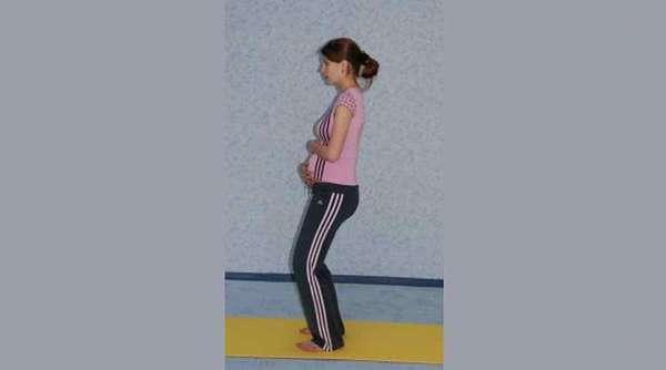 Комплекс упражнений для беременных на 2 триместре с фото