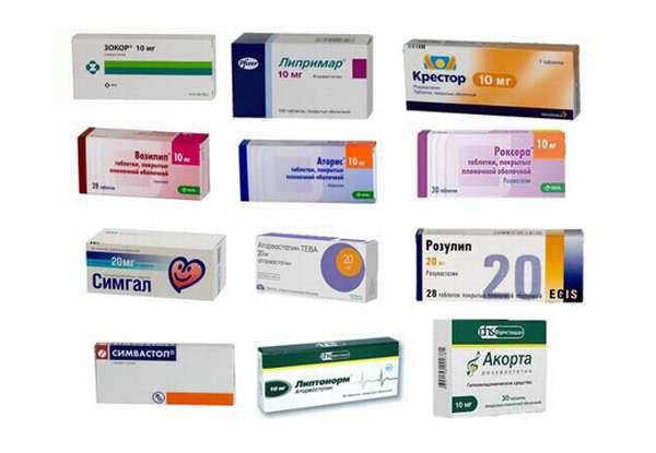 Таблетки от холестерина