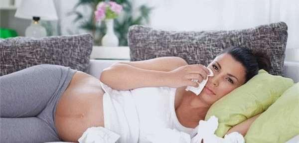 как лечить простуду при беременности на 2 и 3 триместре беременности