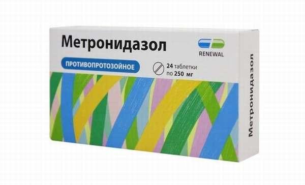 Метронидазол при оофорите