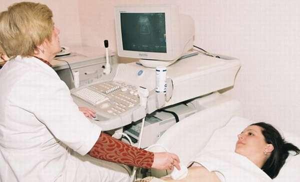 Выявление абсцесса яичника на УЗИ