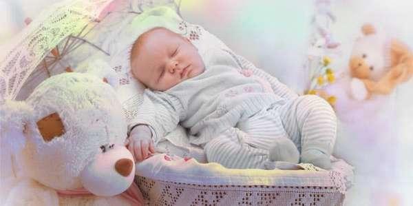 сон малыша в 7 месяцев