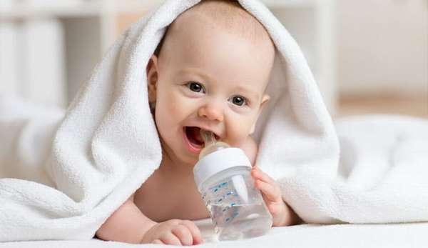 Напитки в меню малыша