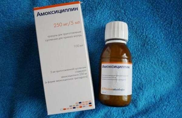 Чаще всего антибиотики широкого спектра действия для детей делают в форме суспензии.