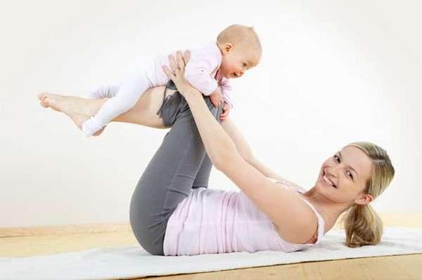Как проходит осстановление живота после родов