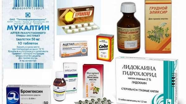Какие антибиотики и отхаркивающие средства необходимо принимать при обструктивном бронхите у детей