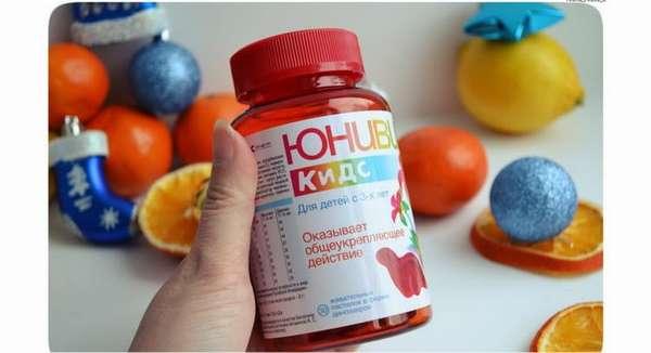 Читайте отзывы от мам о витаминах для детей юнивит кидс
