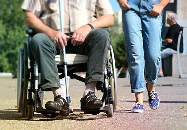Мужчина инвалид
