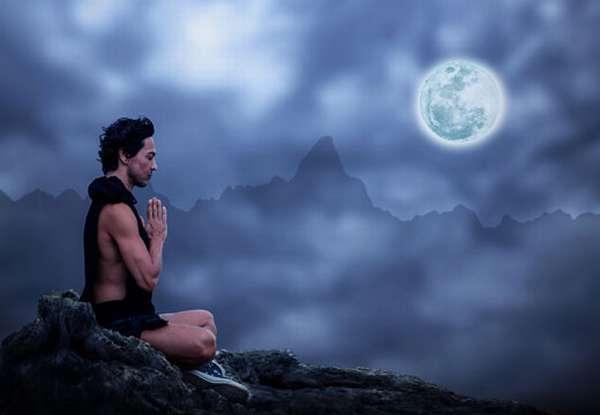 Медитация при полной луне
