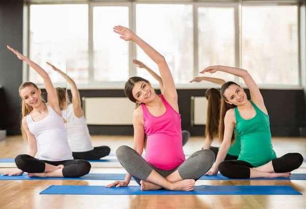 Не мешает ли живот на 30 неделе беременности, для занятий йогой