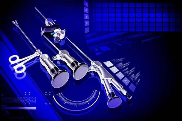 Инструменты для проведения гистероскопии у пациентки