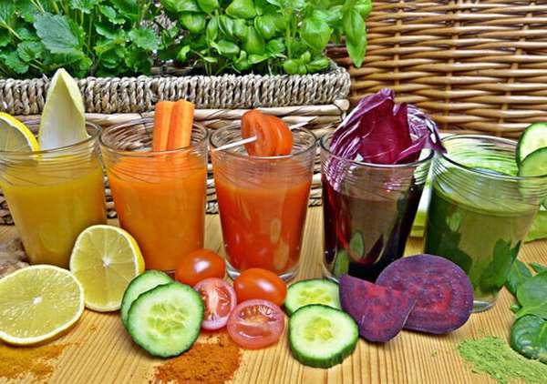 Сок из овощей и фруктов