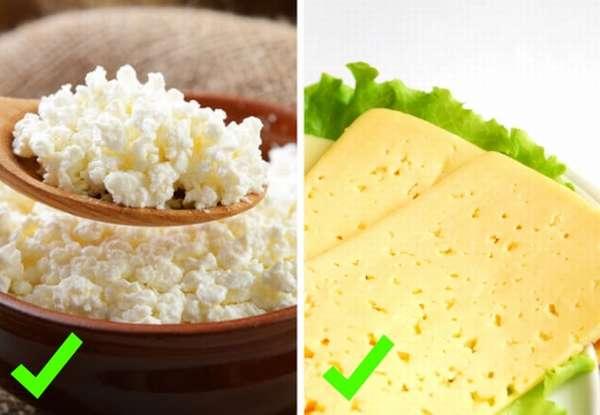 творог сыр можно