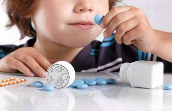 парацетамол в таблетках детям в год