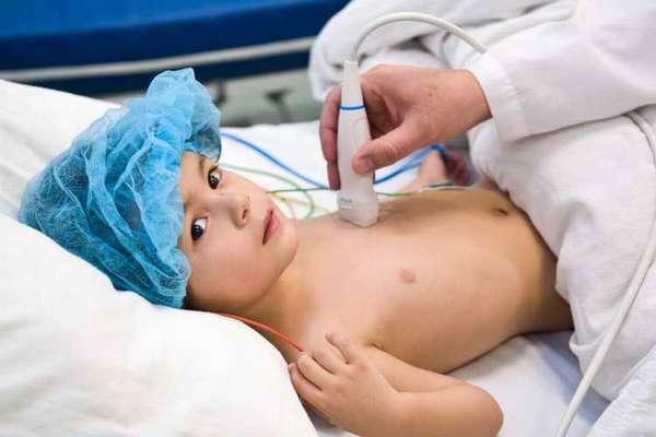как делают узи сердца ребенку