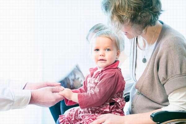 Маленькая девочка перед удалением яичника