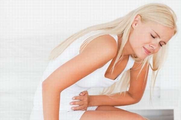 Боли в районе паховой области при кисте яичника у женщины молодого возраста