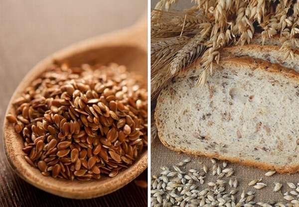 семеня льна хлеб с отрубями