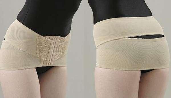 После родов при симфизиопатии могут назначить также ношение специального бандажа.