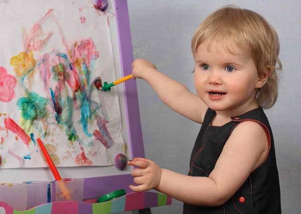 С чего начинать рисование с ребенком