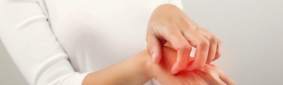 Чешущаяся сыпь на кистях рук и чем лечить