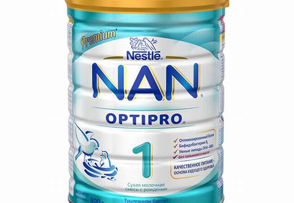 Смесь с пробиотиками Nan