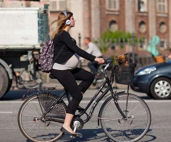 можно ли кататься на велосипеде при беременности