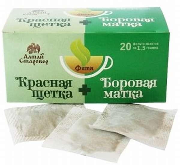 Чай из боровой матки