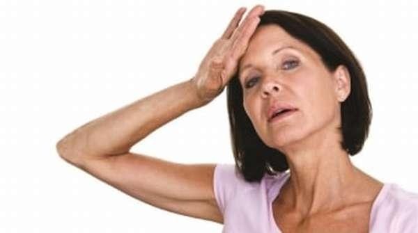 Жар у женщины в период менопаузы