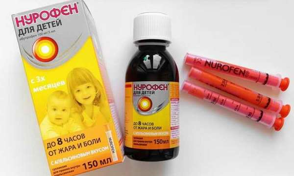 нурофен дозировка для детей