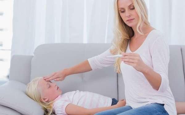 Литическая смесь для детей применяется от температуры.