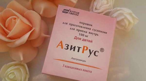 азитрокс суспензия замена