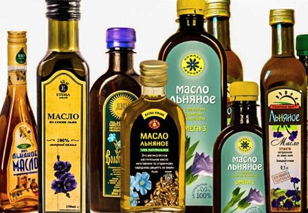 льняное масло виды