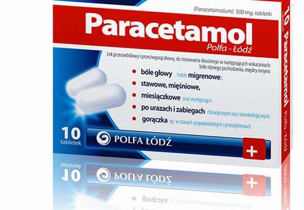 упаковка Paracetamol