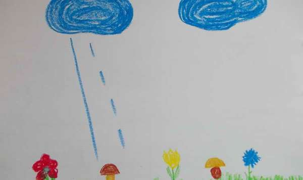 Учим рисовать линии ребенка