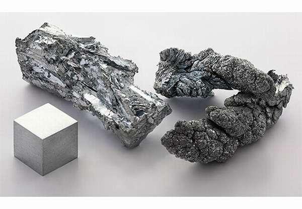 Серебристые минералы