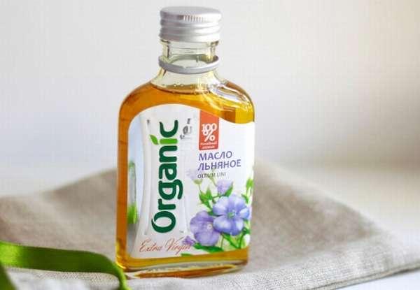 органическое льняное масло