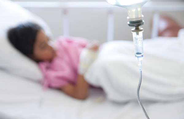 при осложнениях ребенок уже наверняка может попасть в больницу.